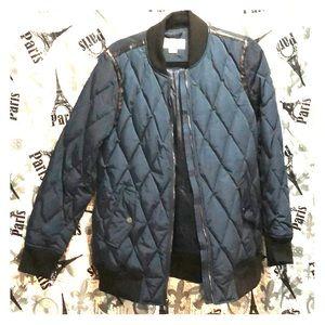 Michael Kors jacket 100% polyester.
